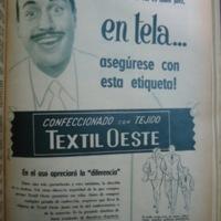 Advertisements in El Gráfico in 1955